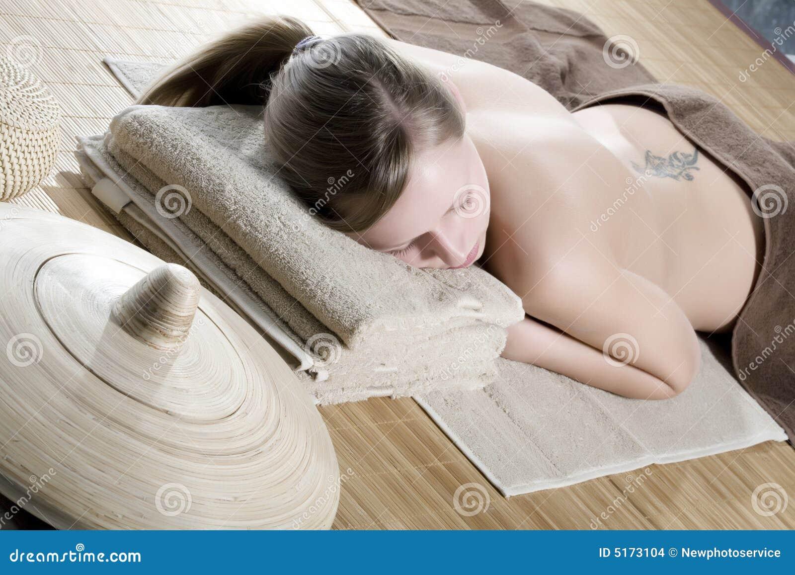 Spa kobieta