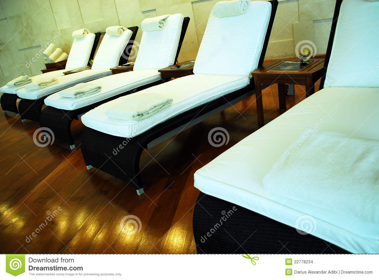 spa lounge chairs stock photo image of bright light 22778234