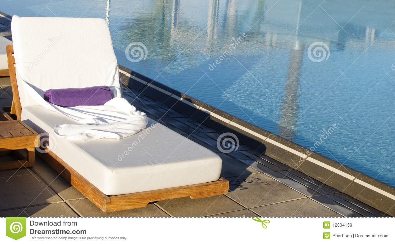 Spa luxury resort pool area royalty free stock photos for Luxury pool area