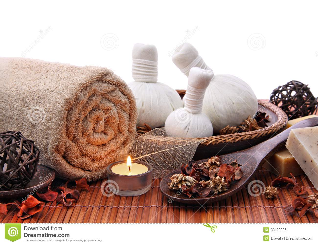 Spa massage  Spa Massage Background Stock Photo - Image: 44110756