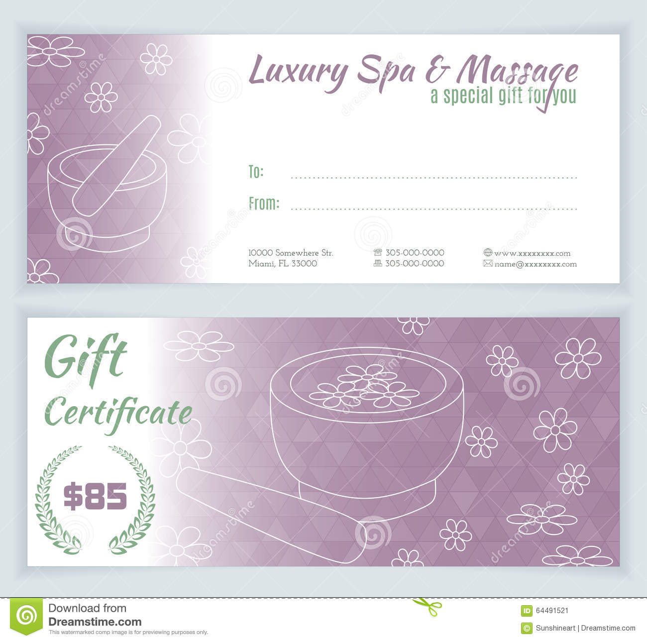 Spa massage gift certificate template stock illustration massage gift certificate template stock illustration illustration of banner pharmacy download comp yelopaper Gallery