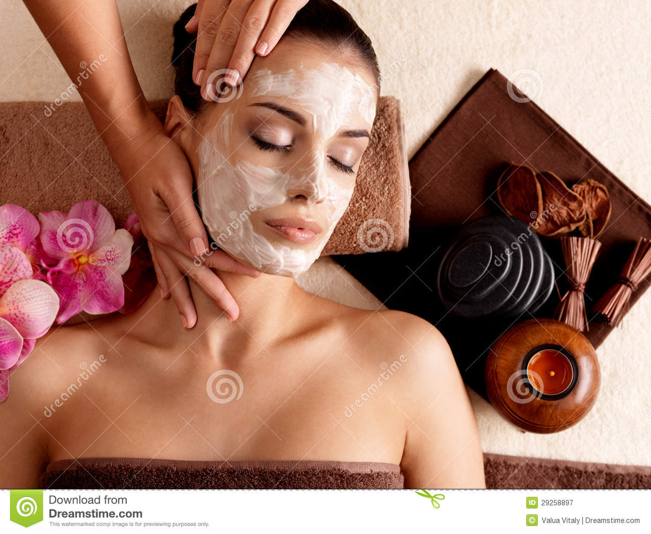 facial spa mask