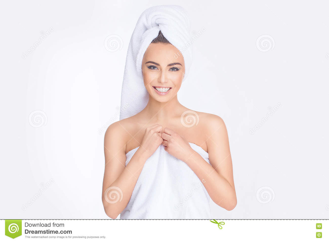 Spa Mujer joven Relaxed