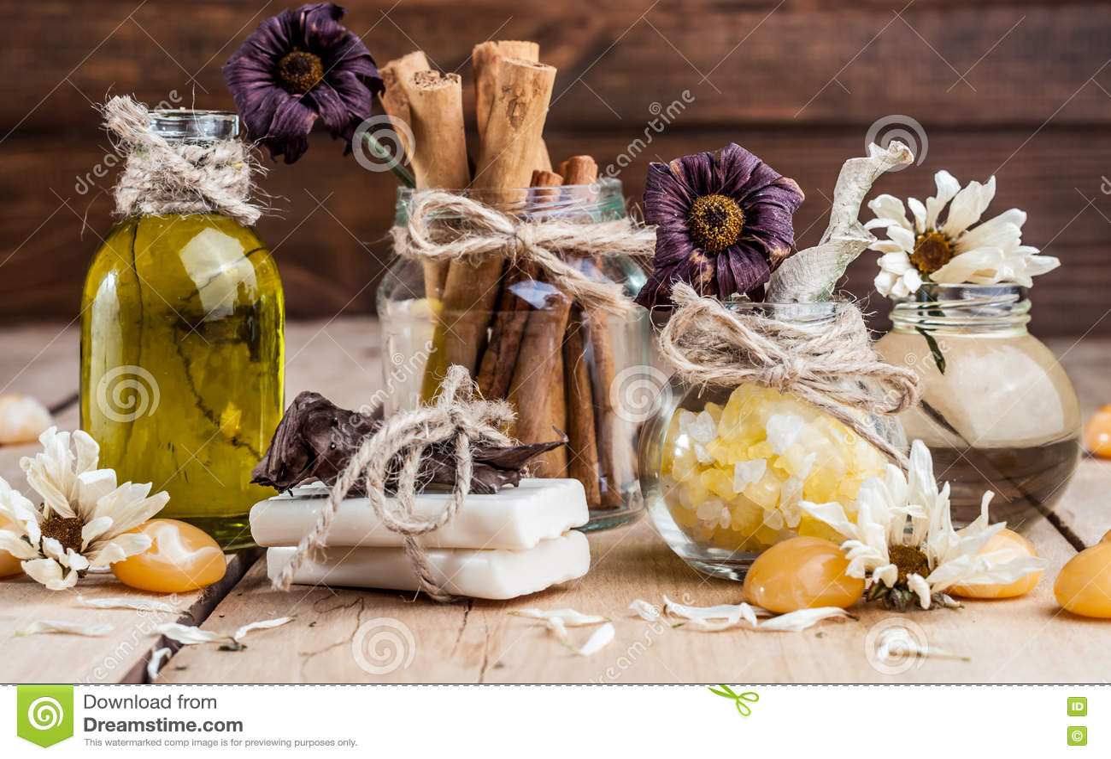 Spa, Oil, Bath Salt, Spices, Herbs, Handmade Soaps Stock