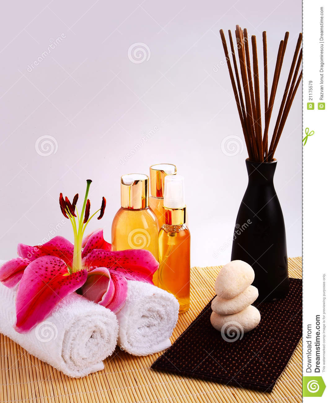 Spa Oils and Incense Sticks