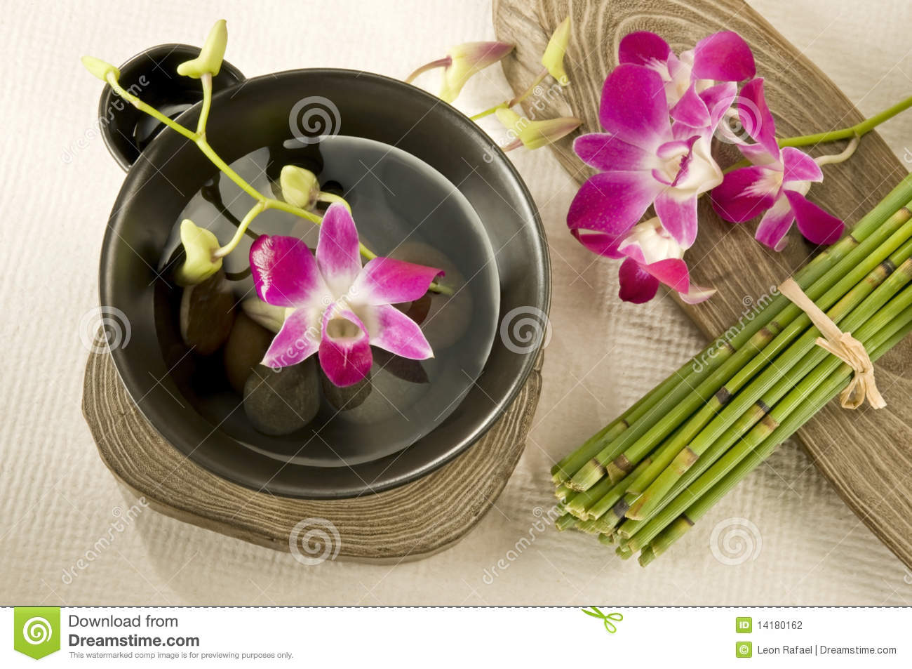 Spa Oriental Style Stock Photography Image 14180162