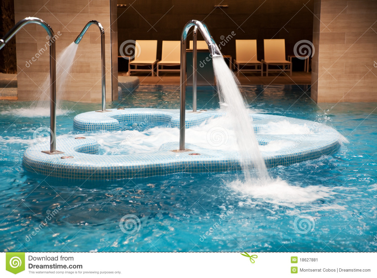Spa pool in action stock image. Image of faucet, jacuzzy - 18627881