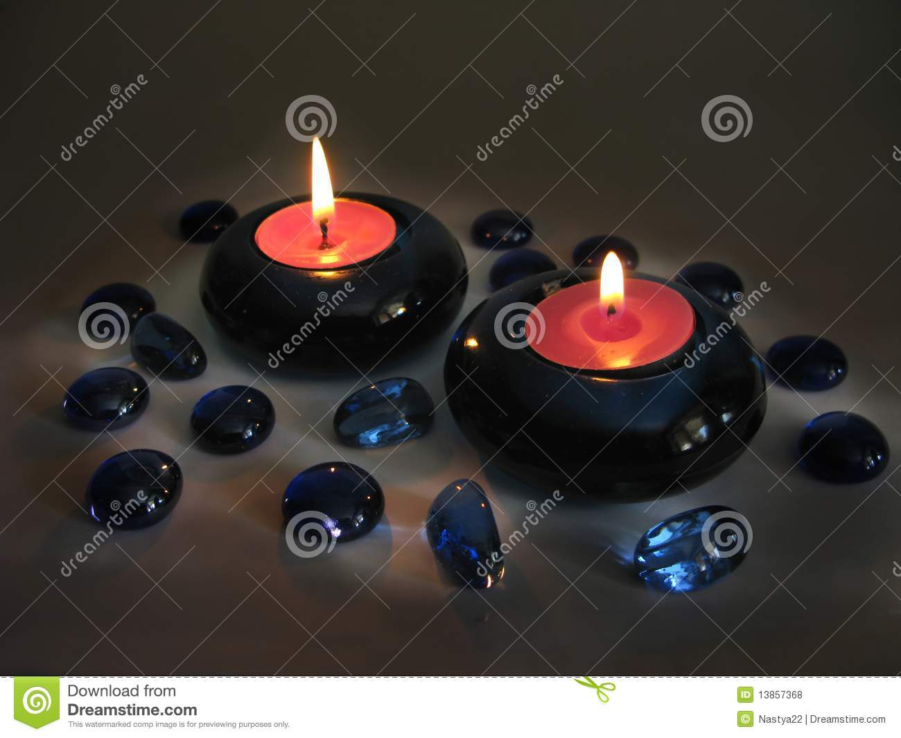 Spa scented aroma candle royalty free stock photos image for Spa smelling candles