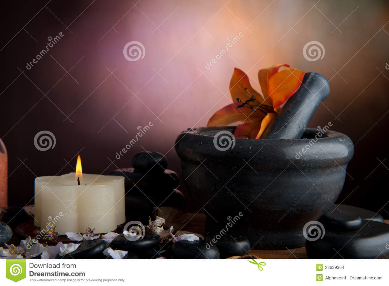 Spa stone stock photo Image of alth therapy massage