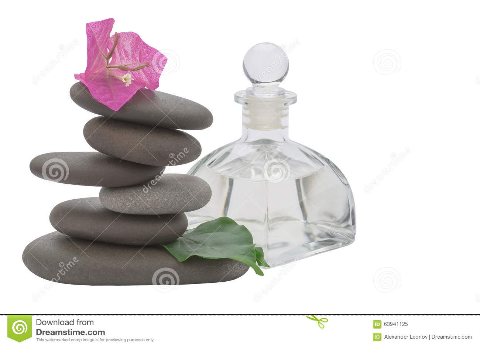 Spa Stone Stock Image