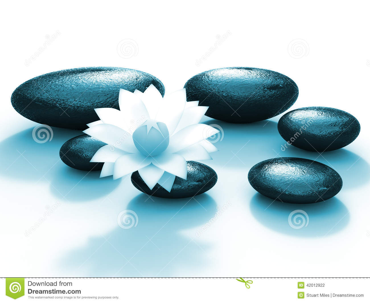 Spa stones indicates floral pebble and calmness stock for Floar meaning