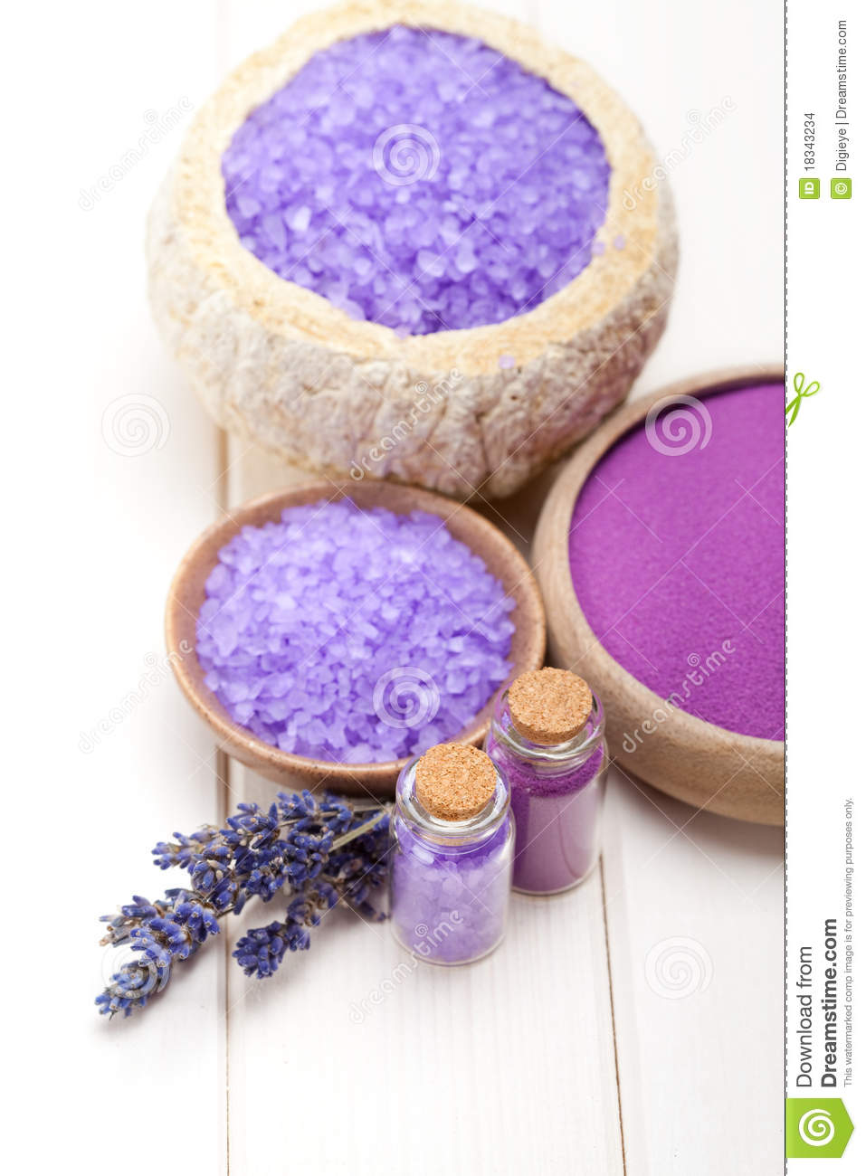 Spa Supplies - Massage Tools Stock Photo, Picture And Royalty Free ...