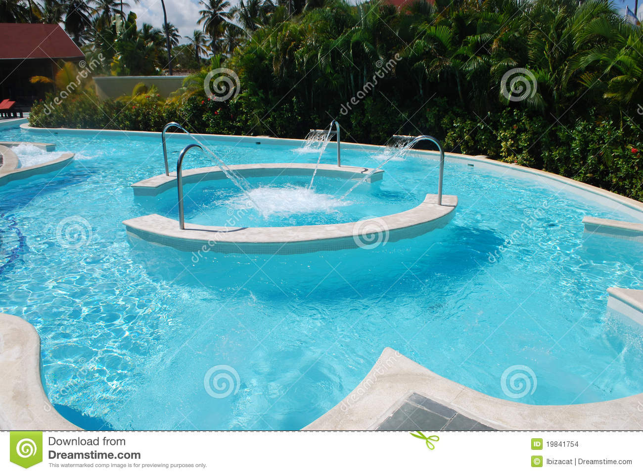Spa Swimming Pool Stock Images Image 19841754