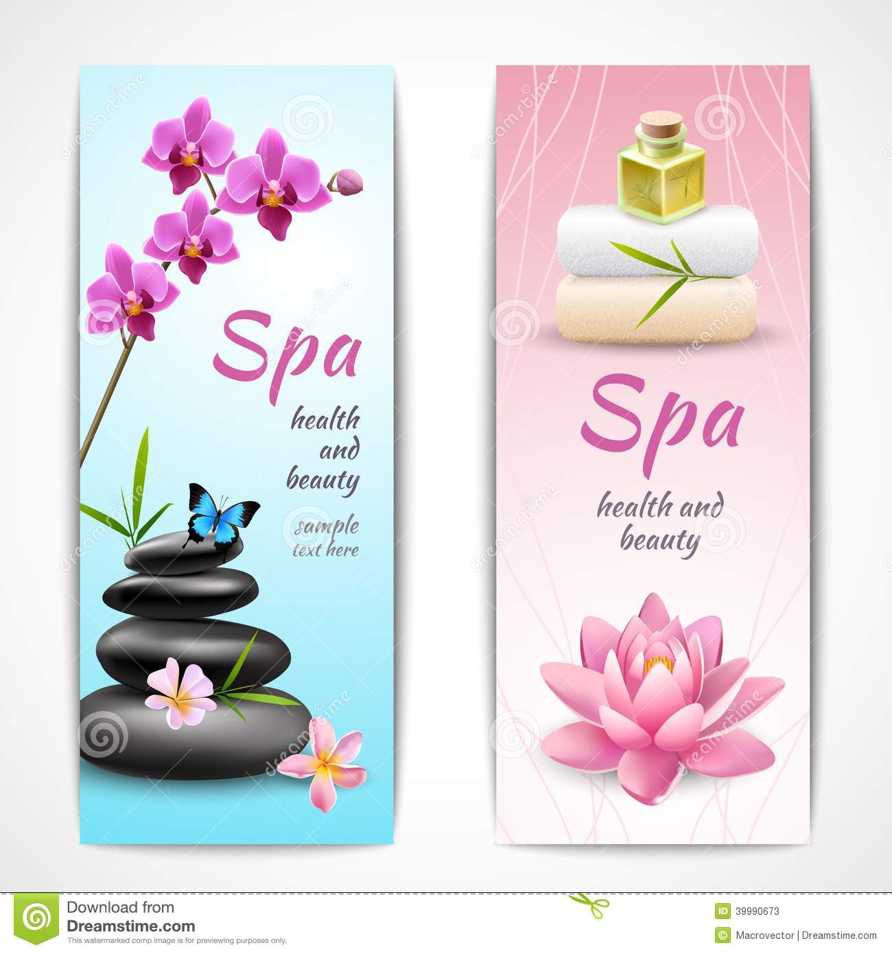 Spa beauty healt...A Beautiful Cartoon Girl Face