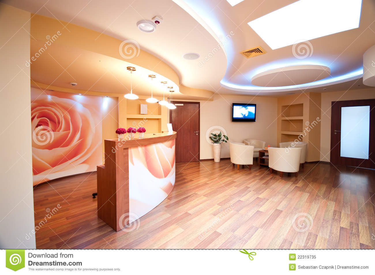 SPA Waiting Room Royalty Free Stock Photo Image 22319735
