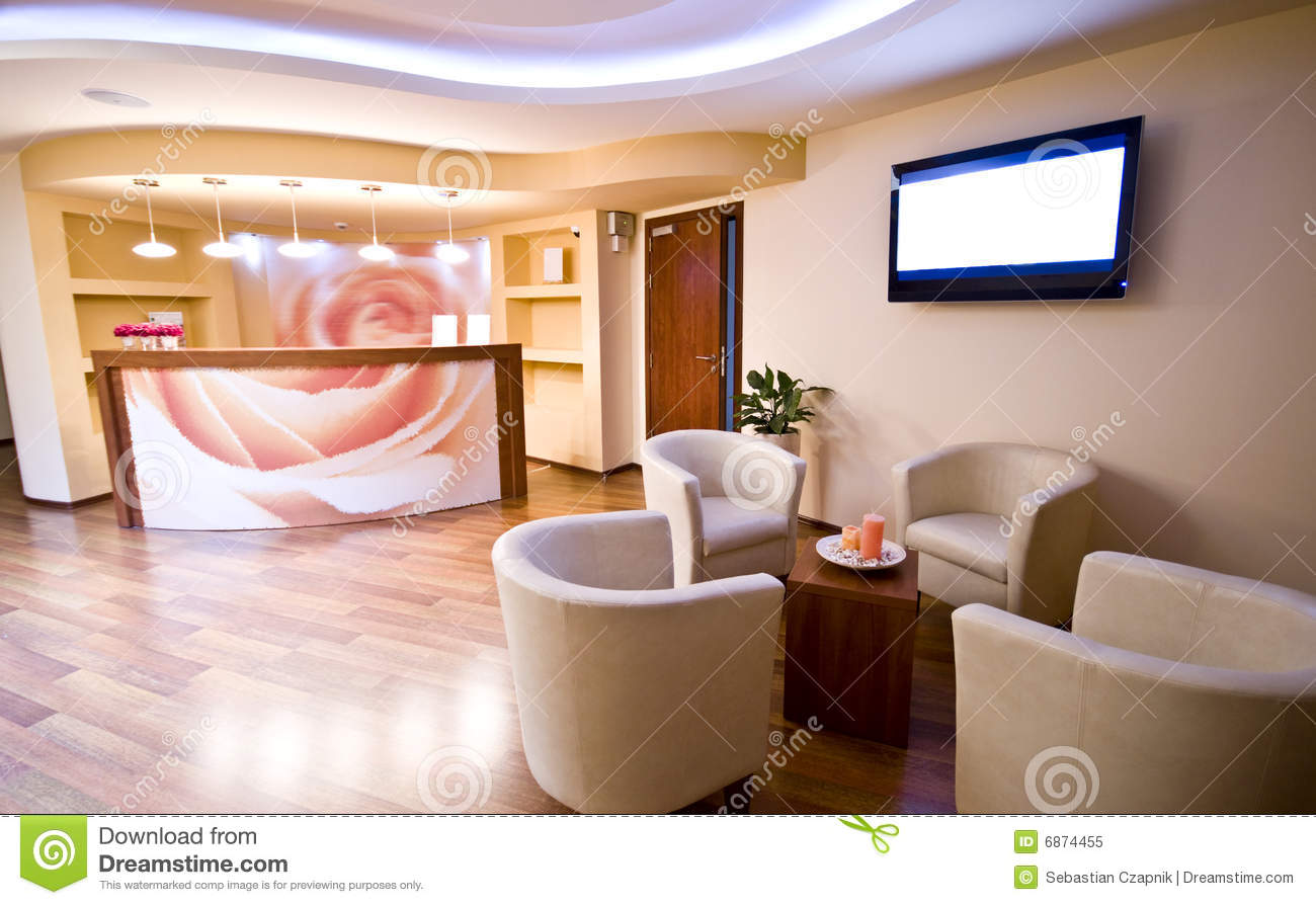 SPA Waiting Room Royalty Free Stock Photo - Image: 6874455