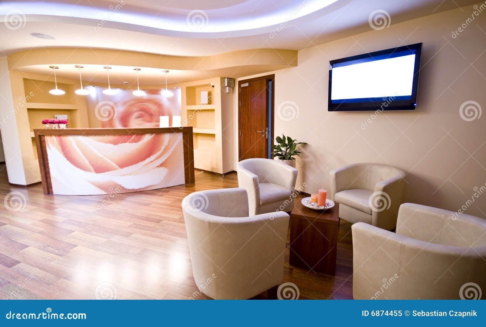 Spa Waiting Room Royalty Free Stock Photo Image 6874455