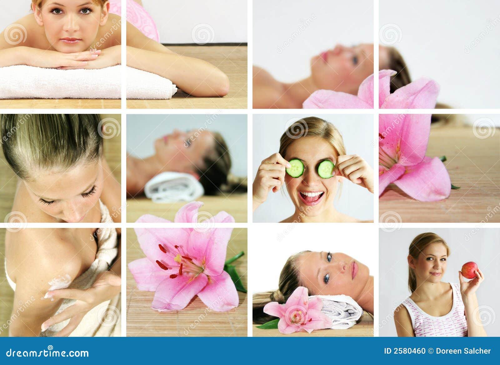 Spa wellness kolaż