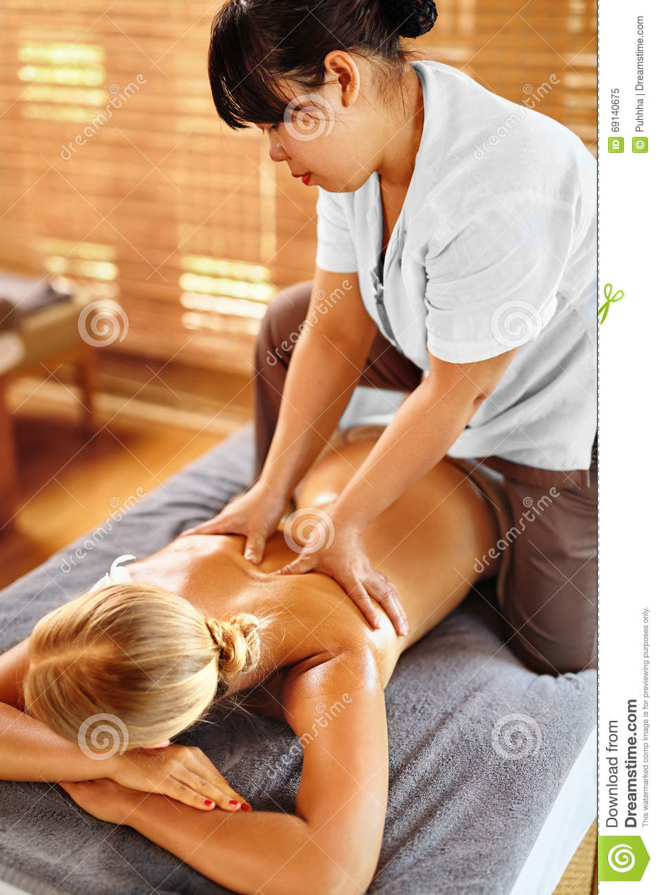 relaxing massage body rotic