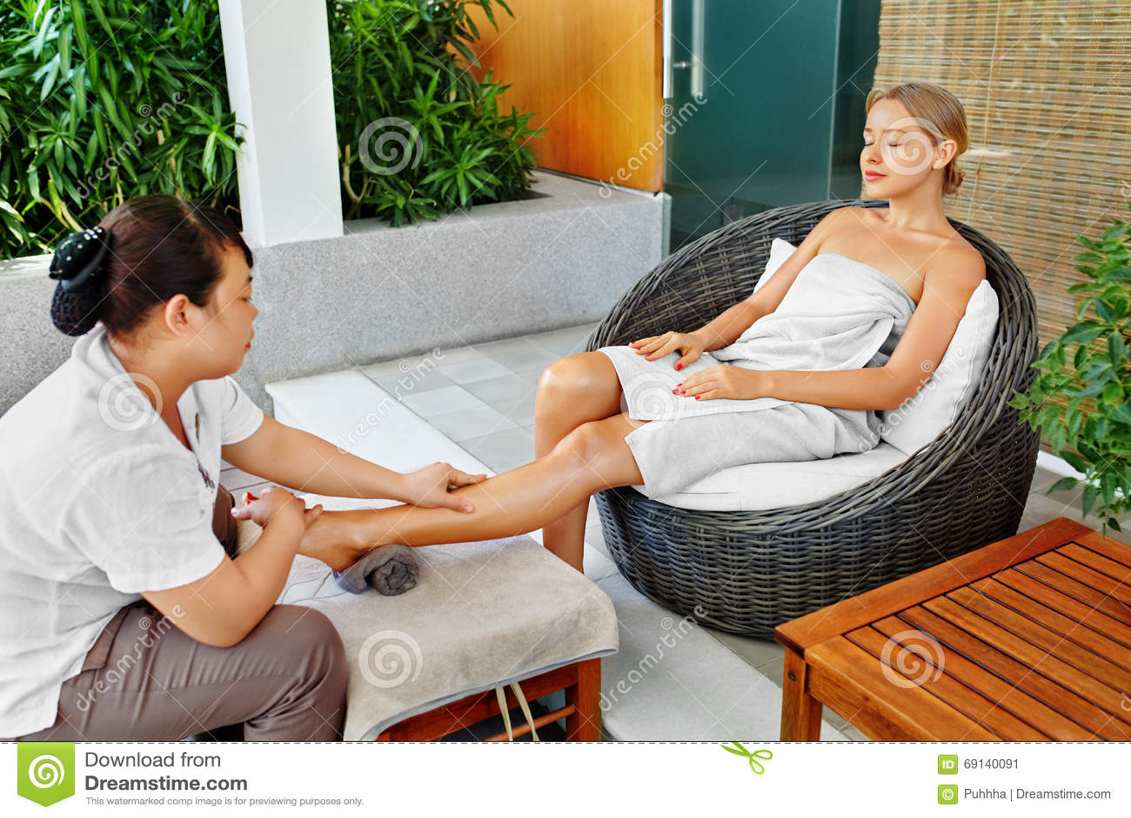 Aromatherapy Foot Spa