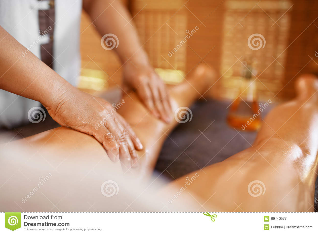 Full body sexy massage