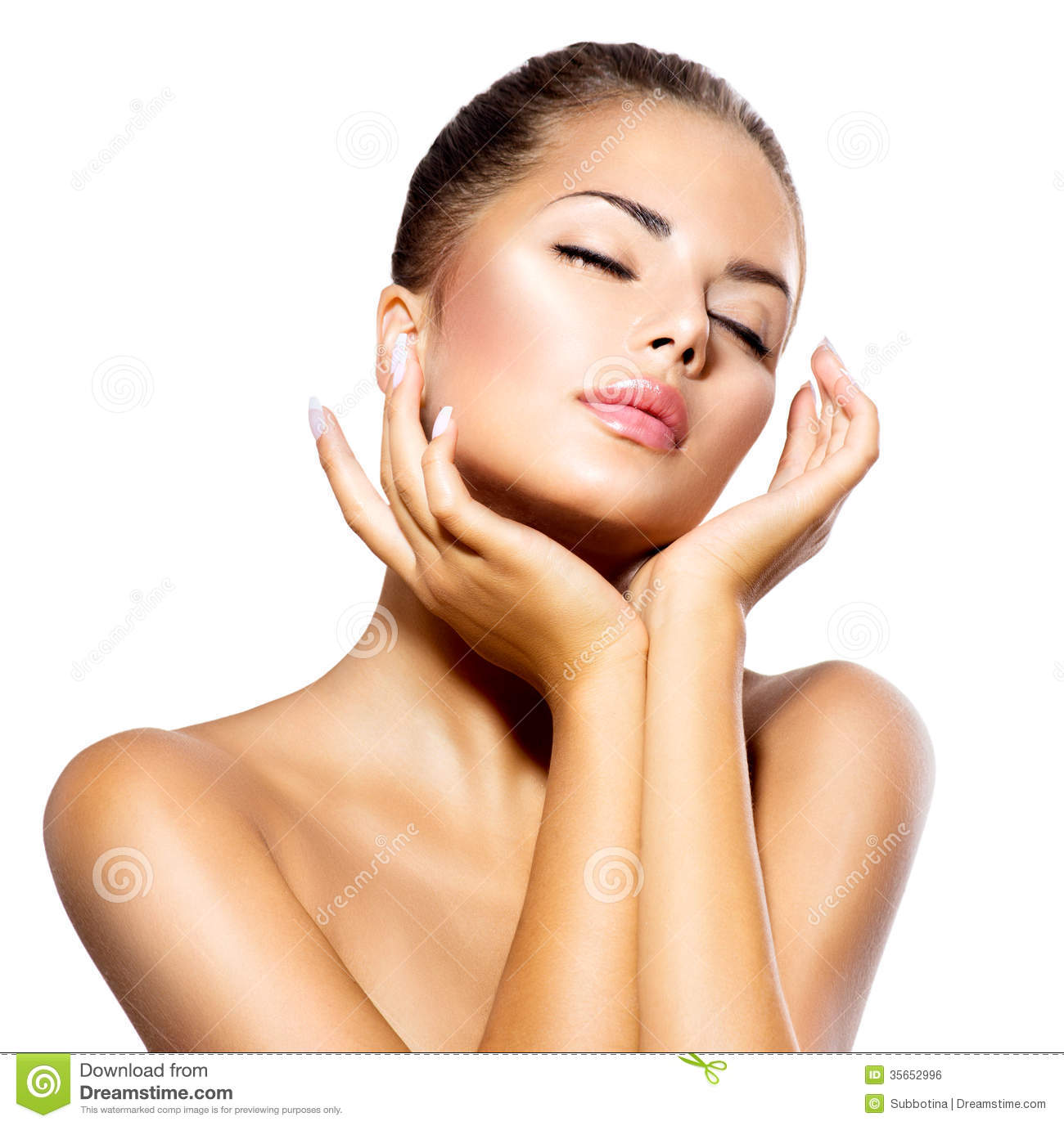 Spa Woman Portrait Royalty Free Stock Image Image 35652996