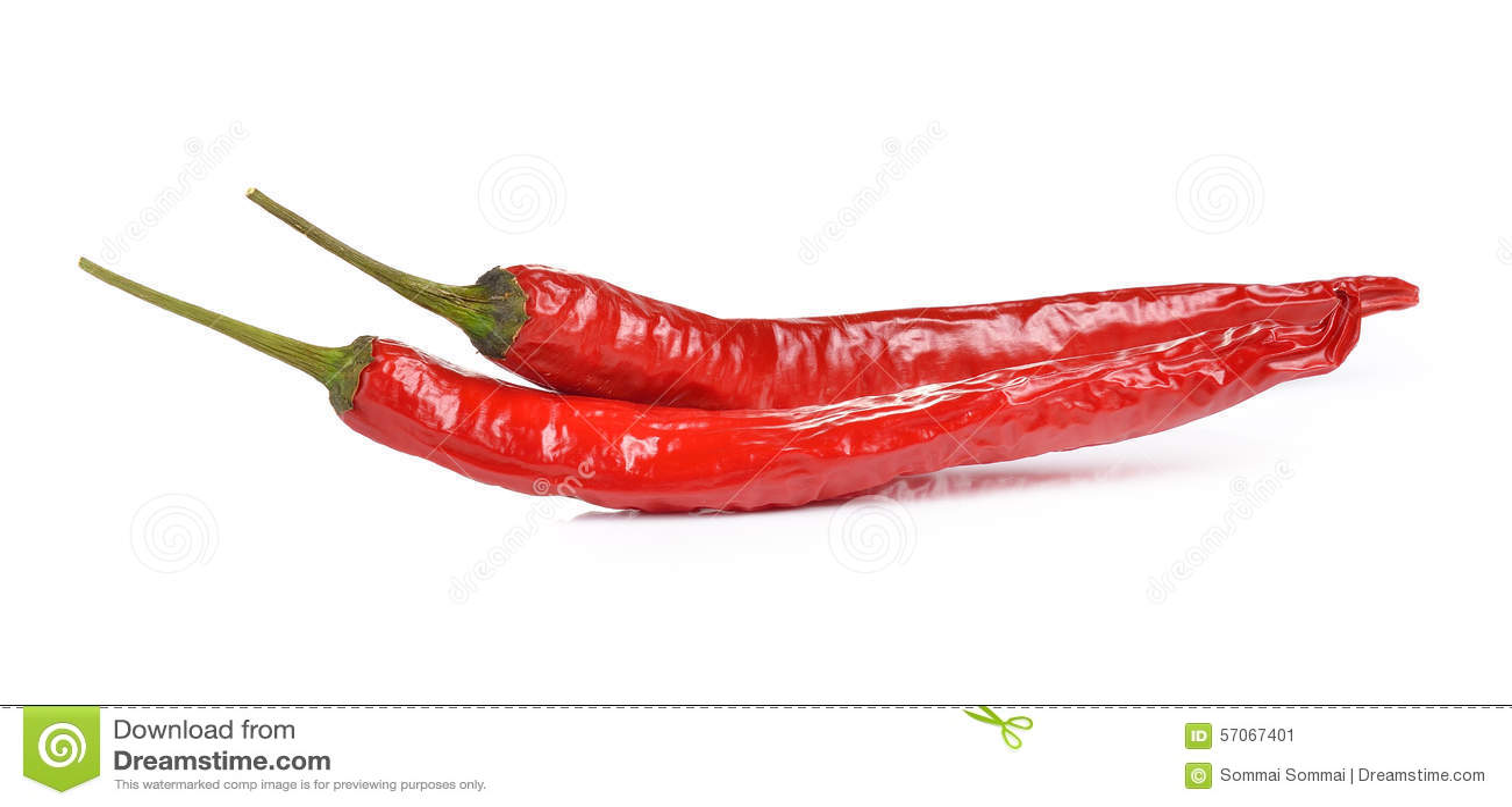 Spaanse peperspeper op witte achtergrond wordt geïsoleerd die