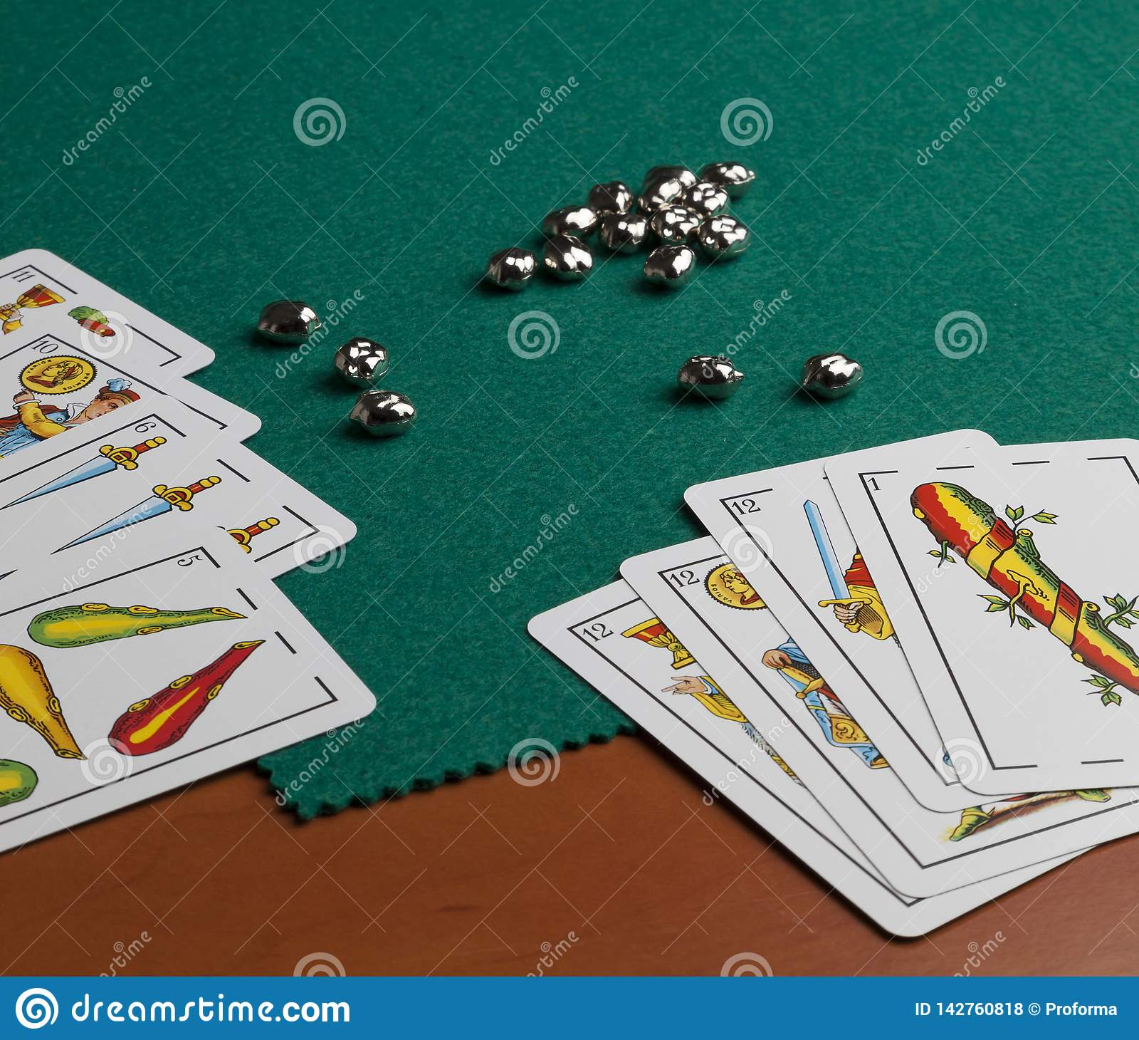 Spaanse speelkaarten