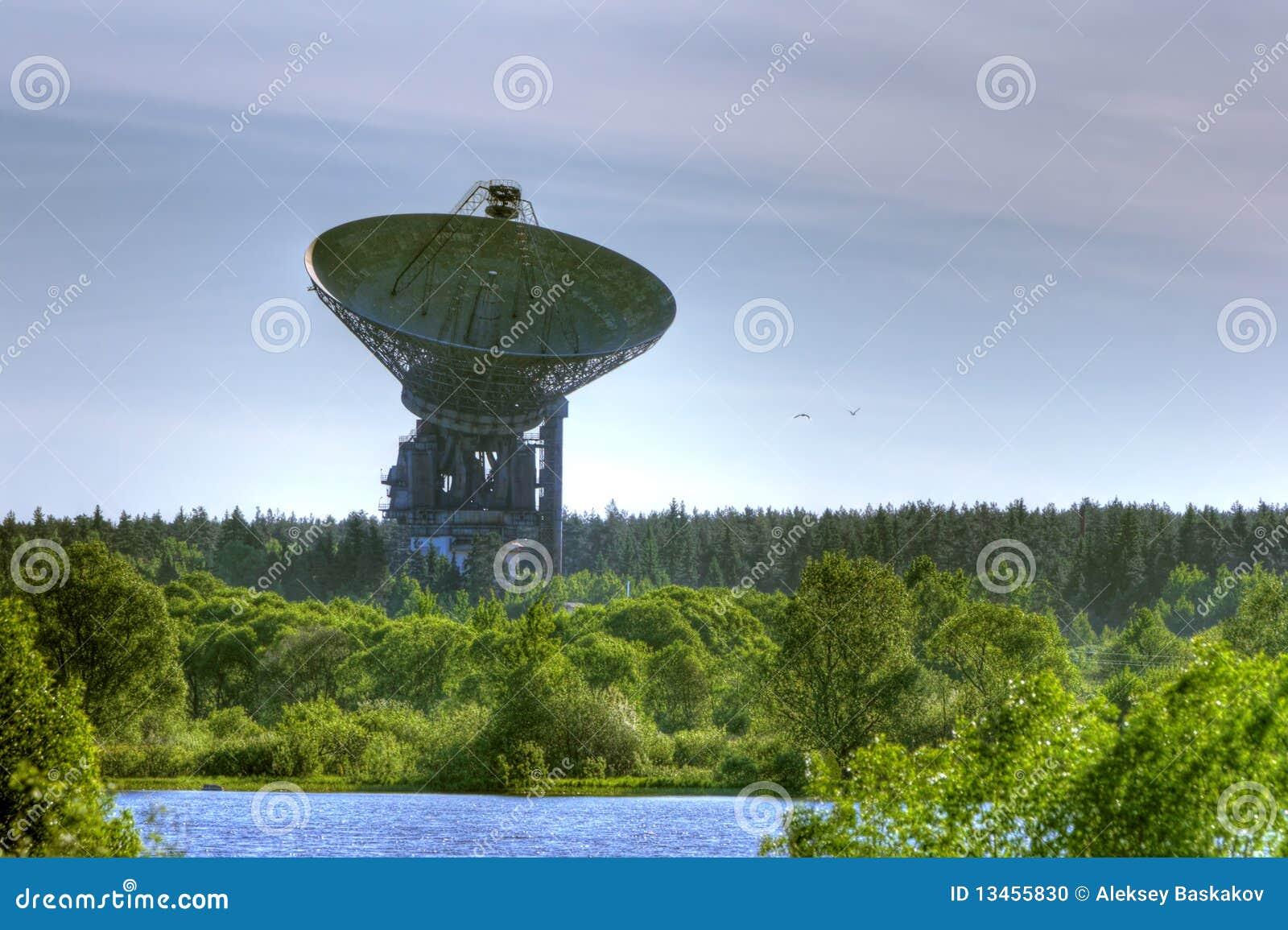Space Communication Antenna Stock Photo Image 13455830