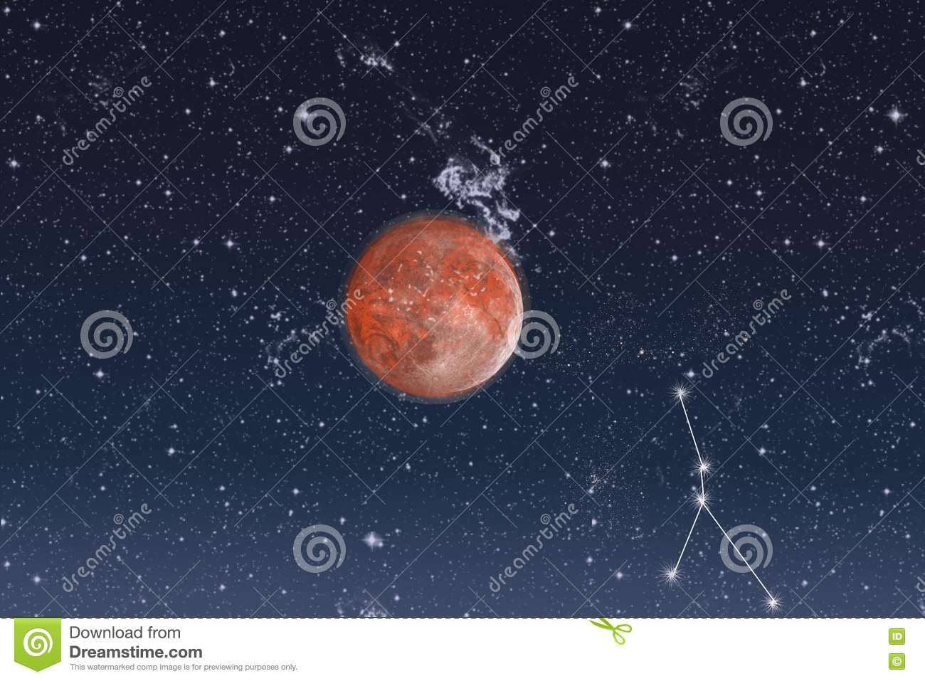Space constellation of cancer