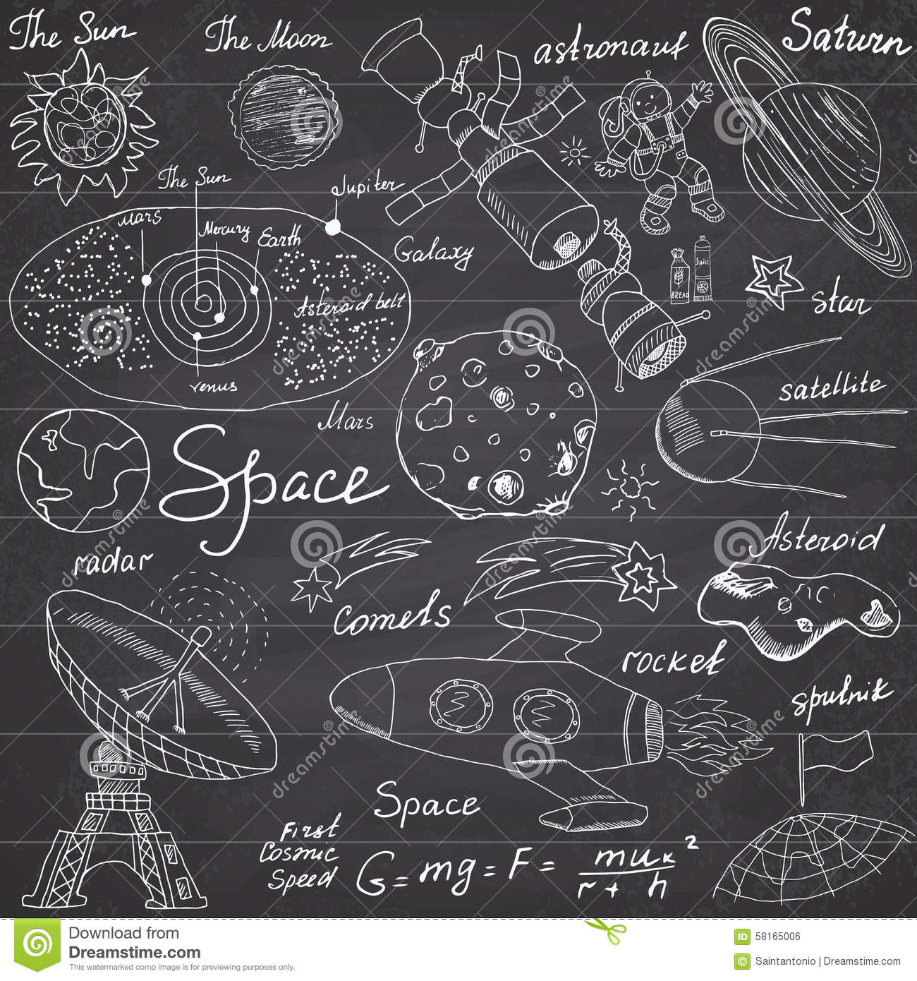 astronomy doodles - photo #36
