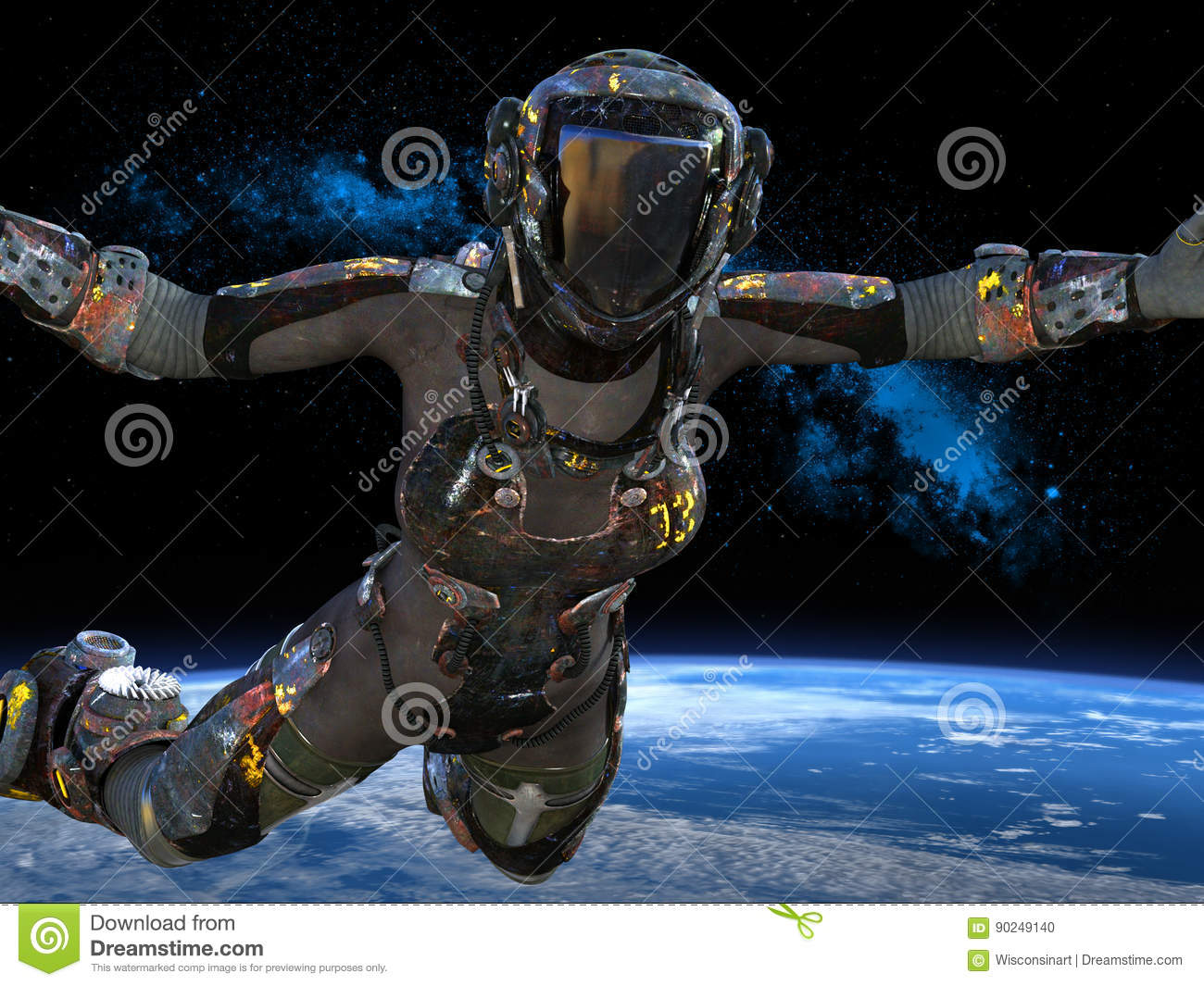 Space Explorer, Astronaut, Outer Space