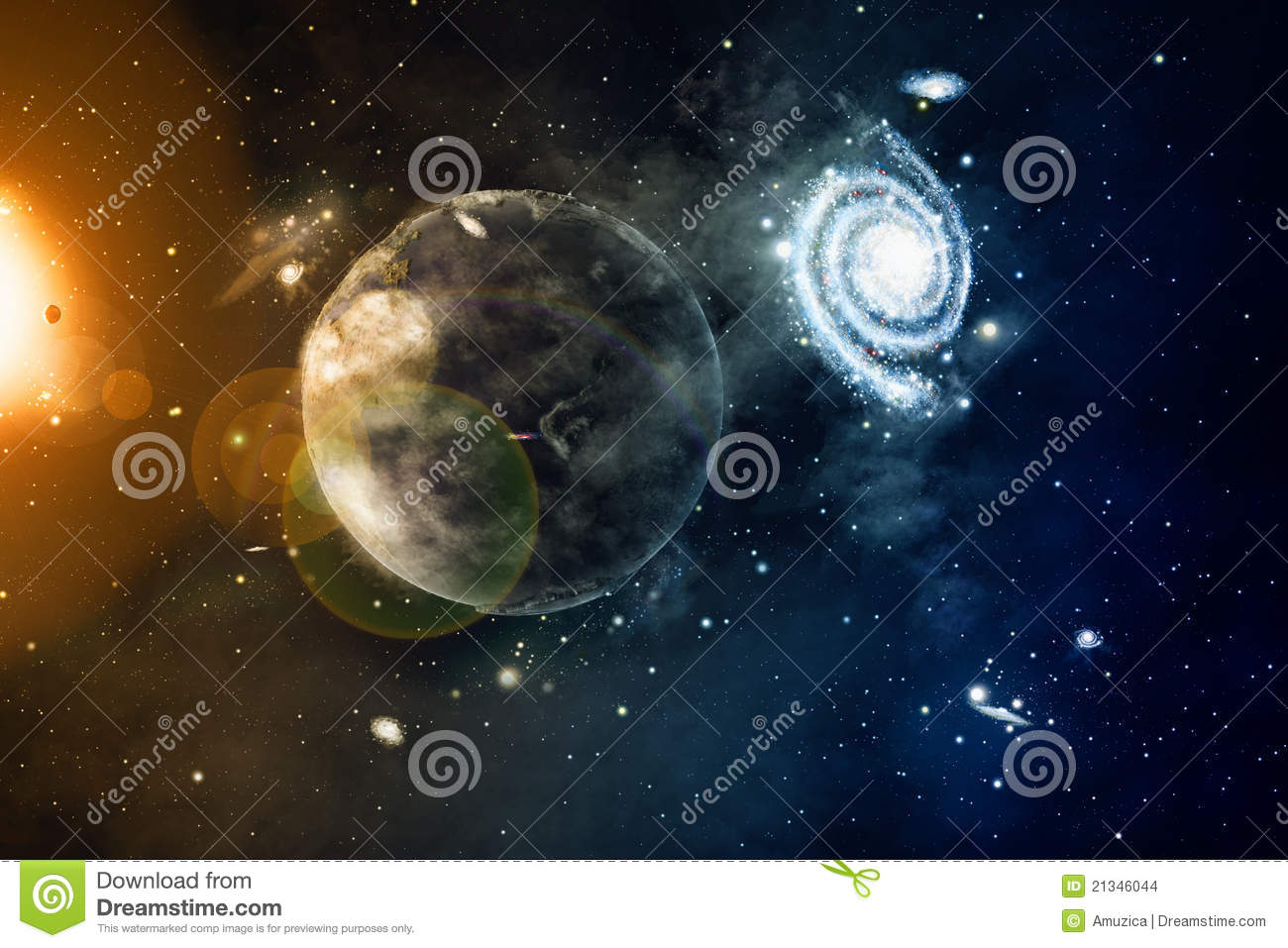 space stars galaxies and planets - photo #44
