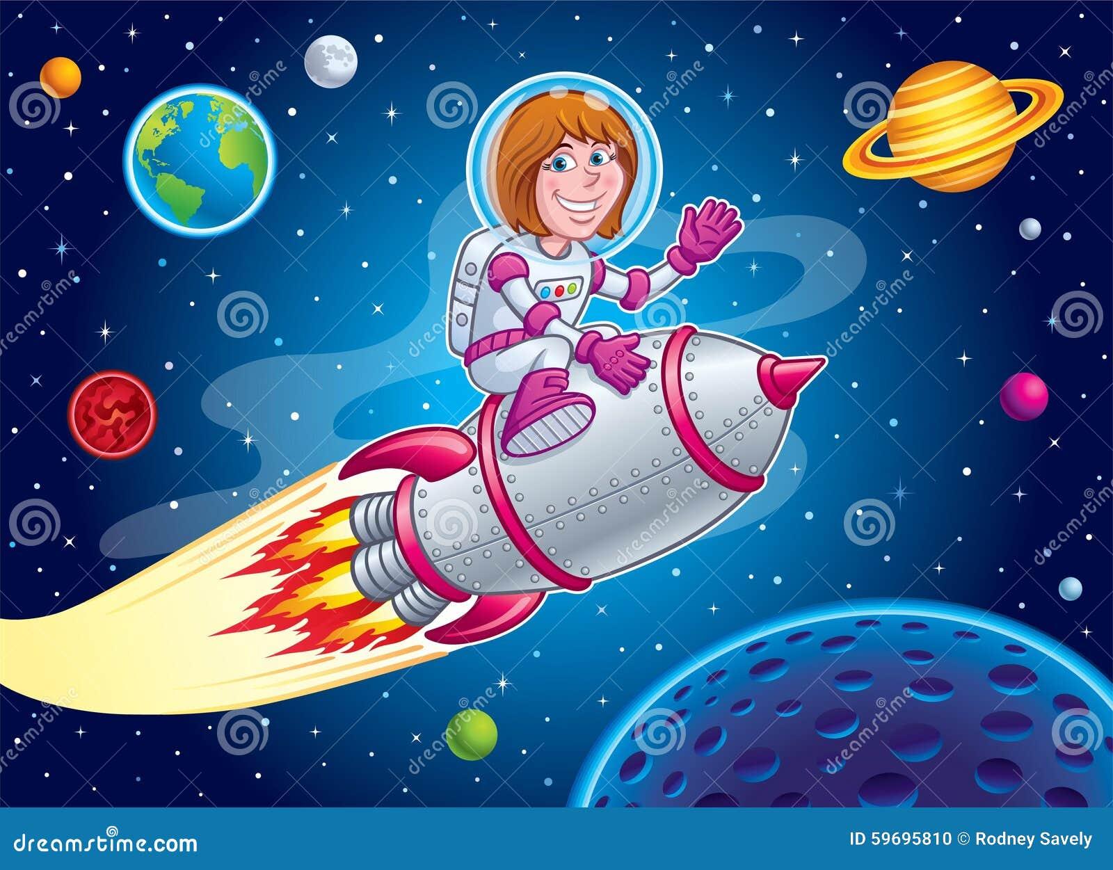 Final, space women can