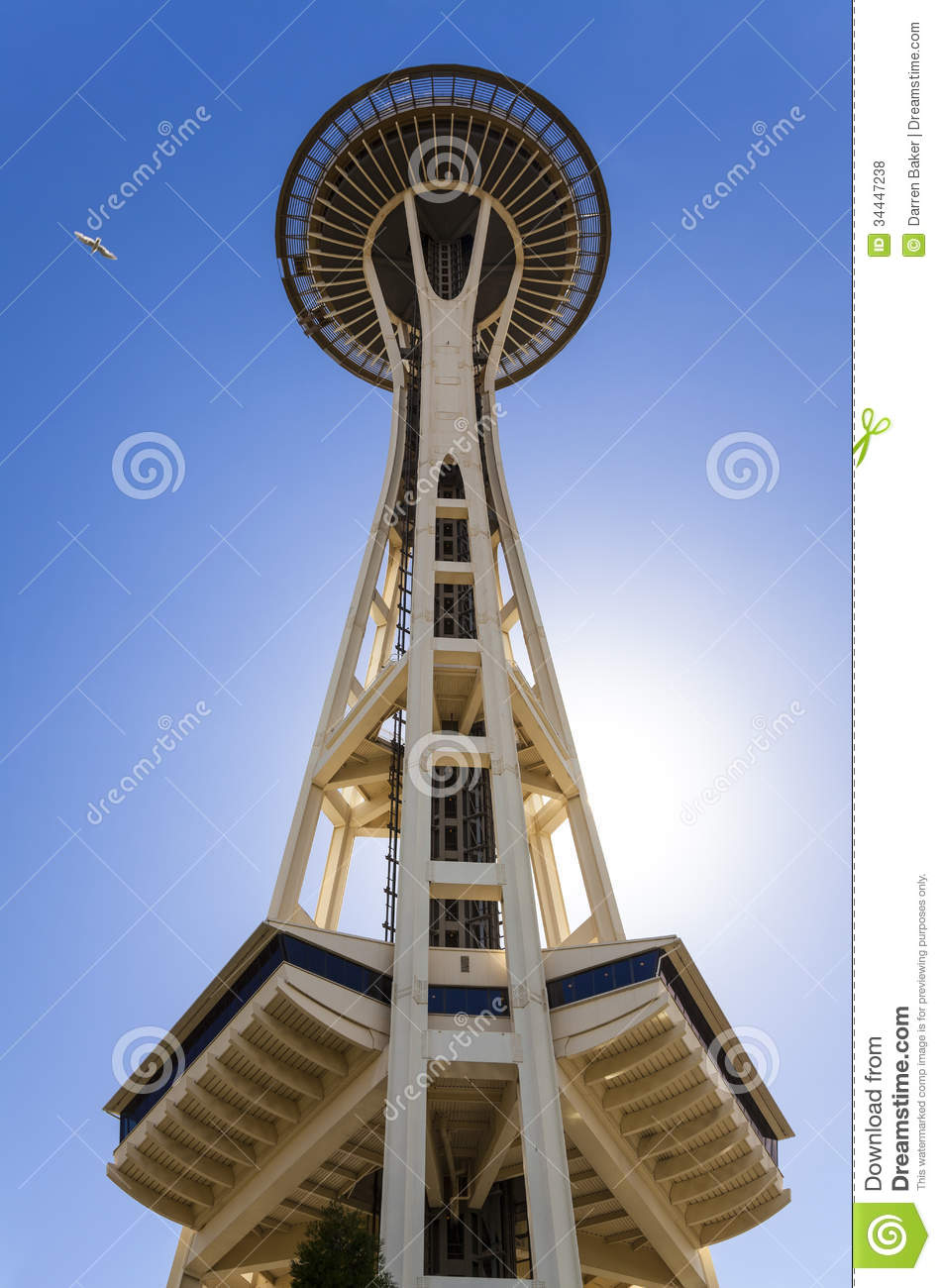 The space needle seattle washington usa editorial stock Built in seattle