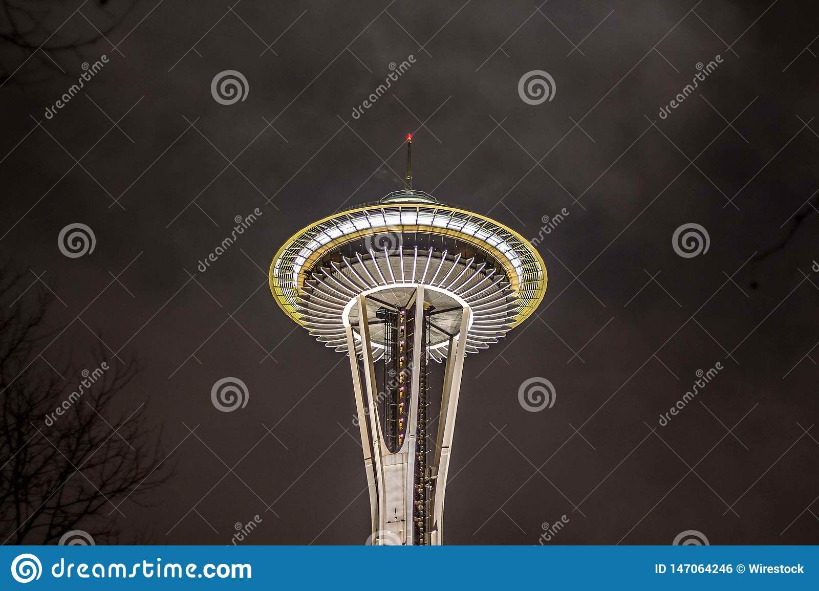 The Space Needle Tower in Seattle