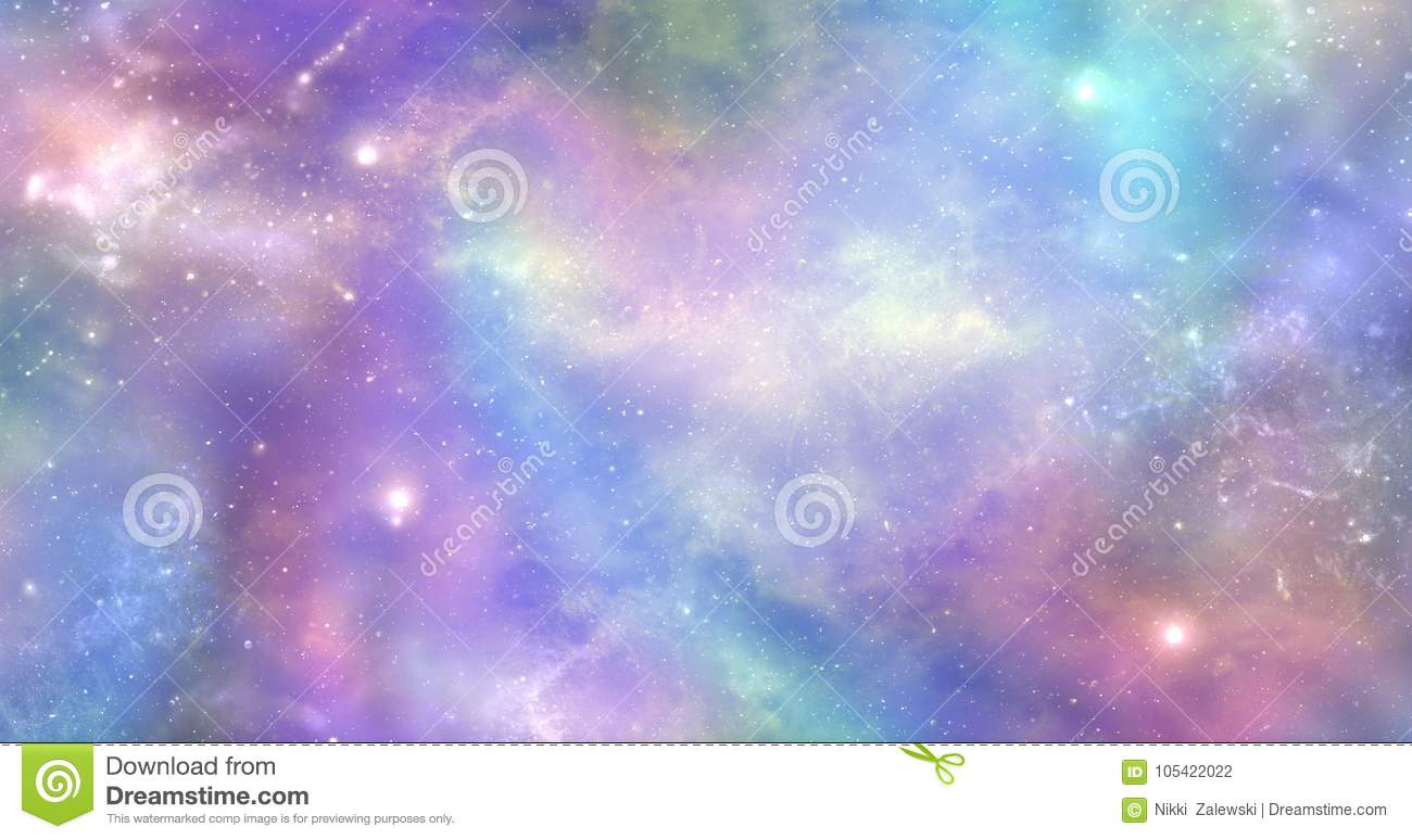 Space is not just dark and deep it is also filled with heavenly light and color