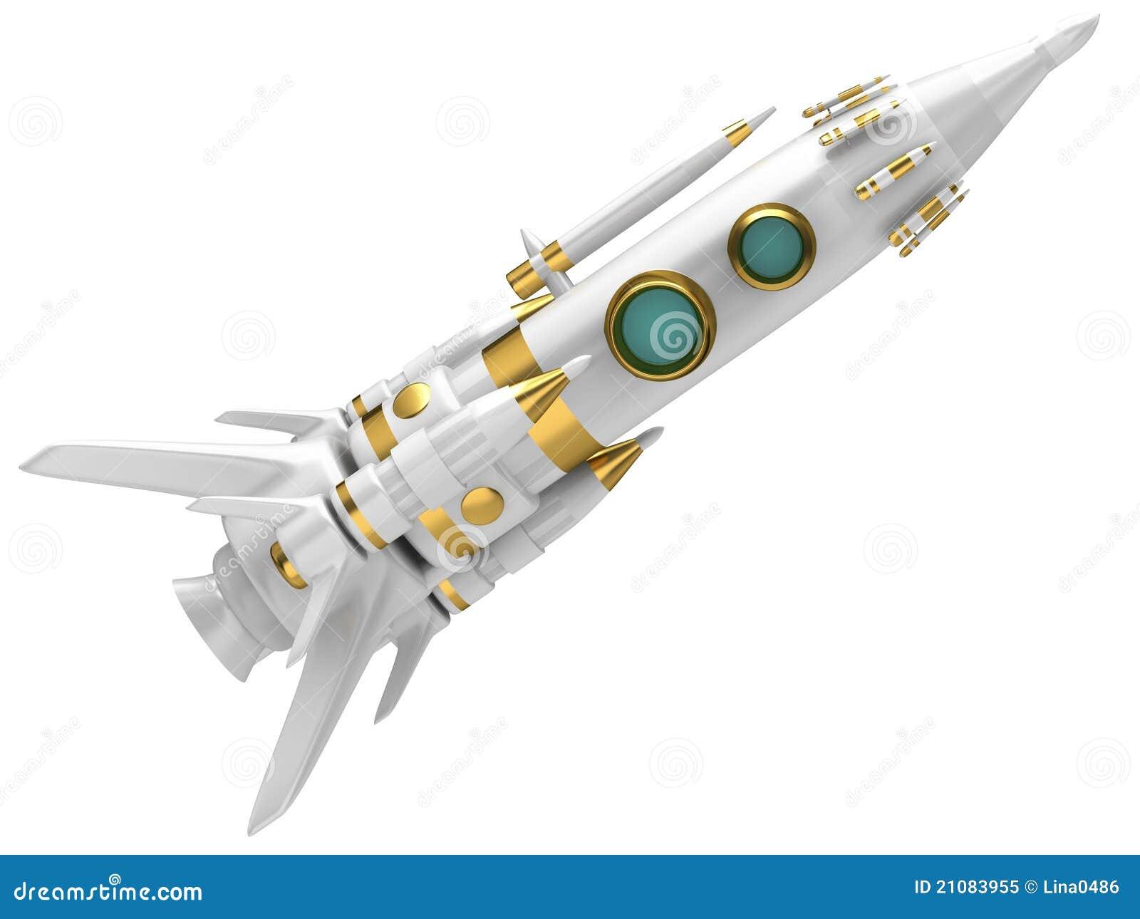 Space Rocket Royalty Free Stock Photo - Image: 21083955