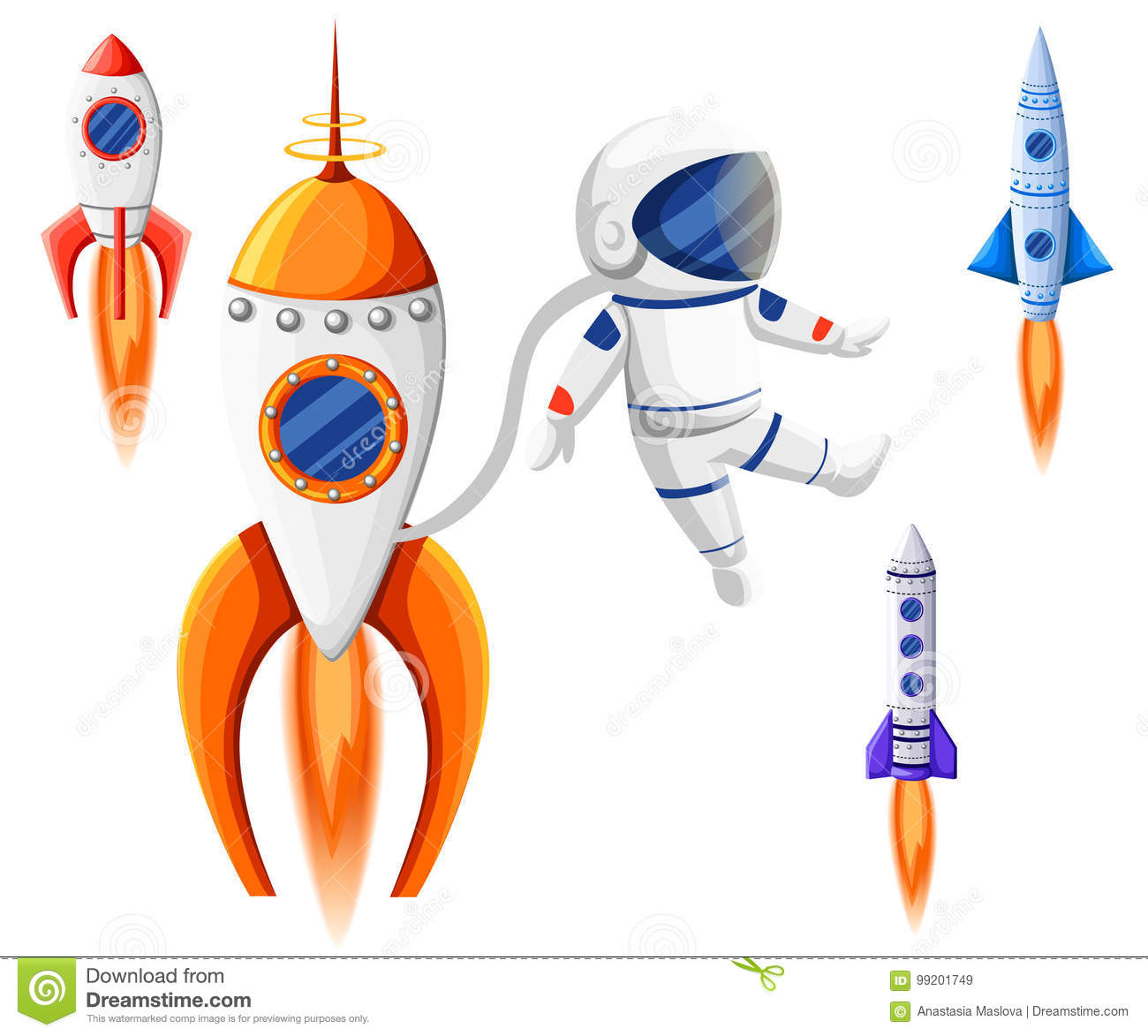 space rocket start up and launch symbol new businesses innovation
