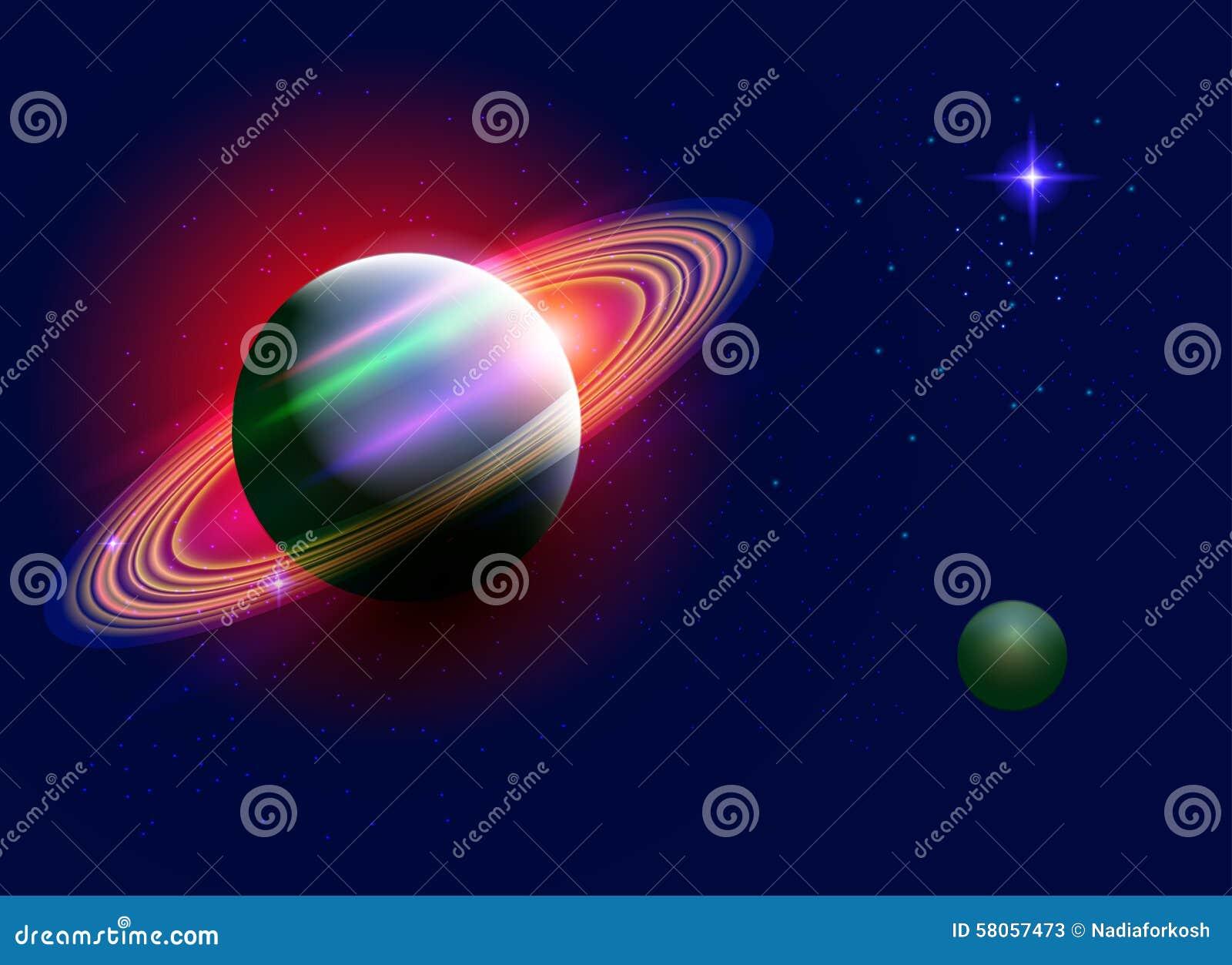 galaxy saturn planet stars - photo #40