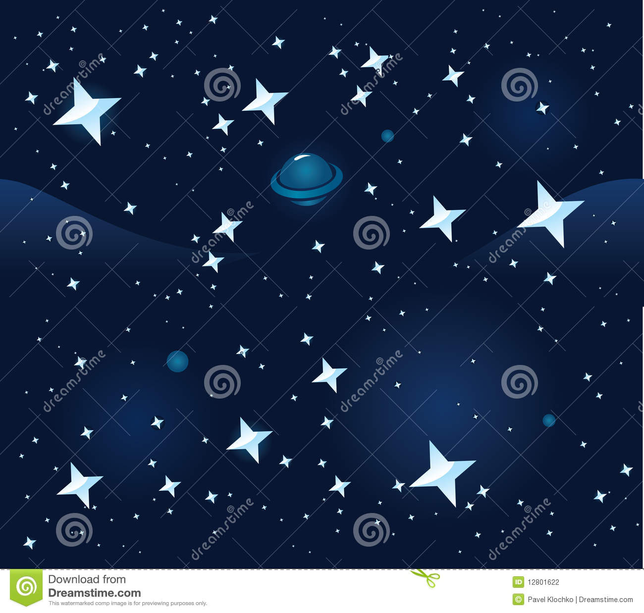 Seamless Space Background Space Seamless Backgro...