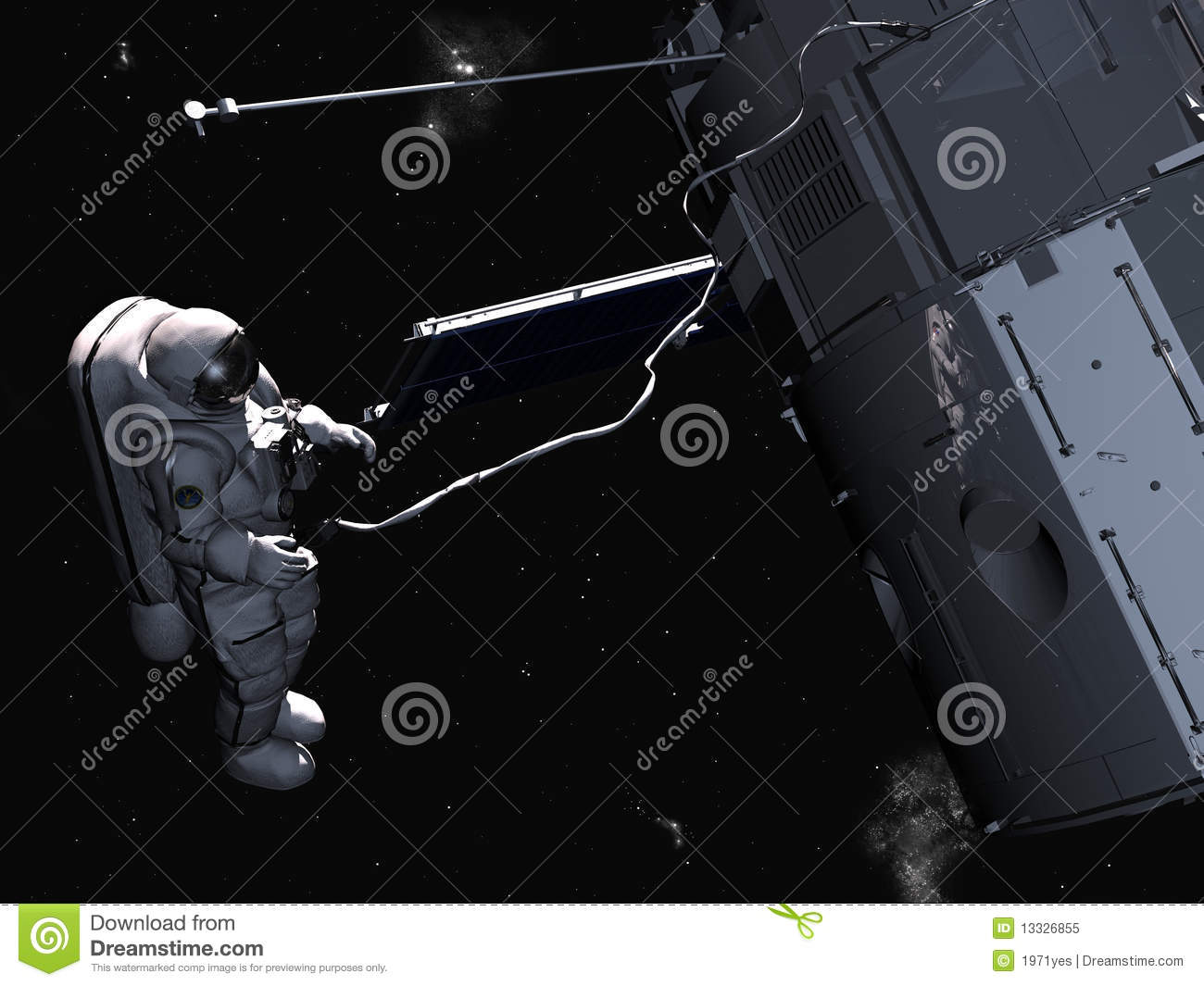 The Space Ship Royalty Free Stock Photo - Image: 13326855