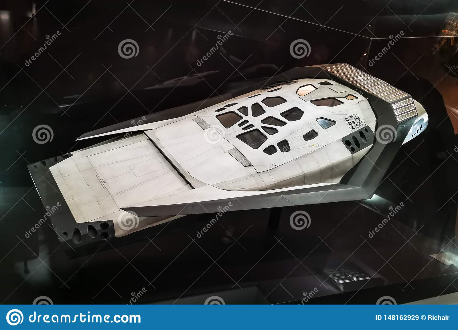 Space Ship From Interstellar Editorial Stock Image Image Of Movie 2014 148162929