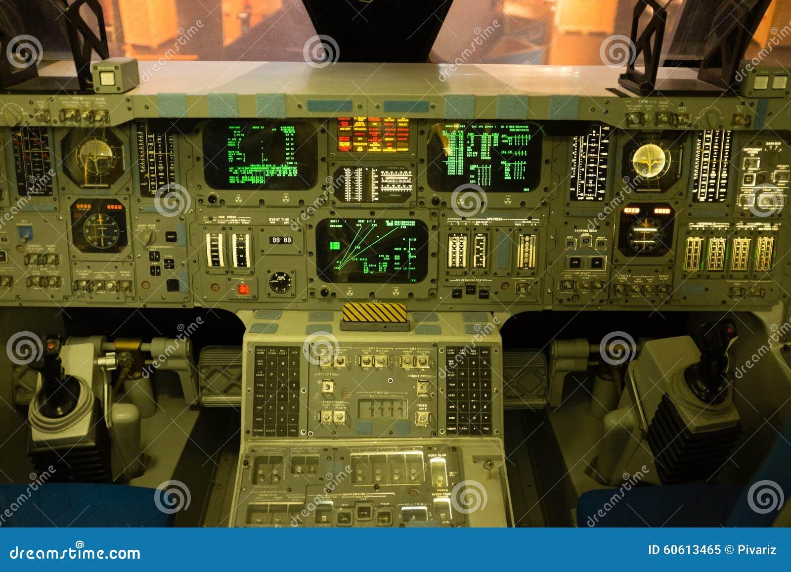 space shuttle original cockpit - photo #5