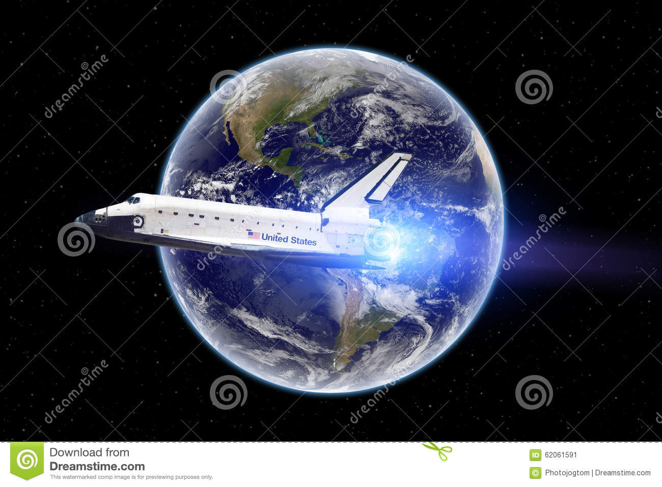 space shuttle trip around earth - photo #34