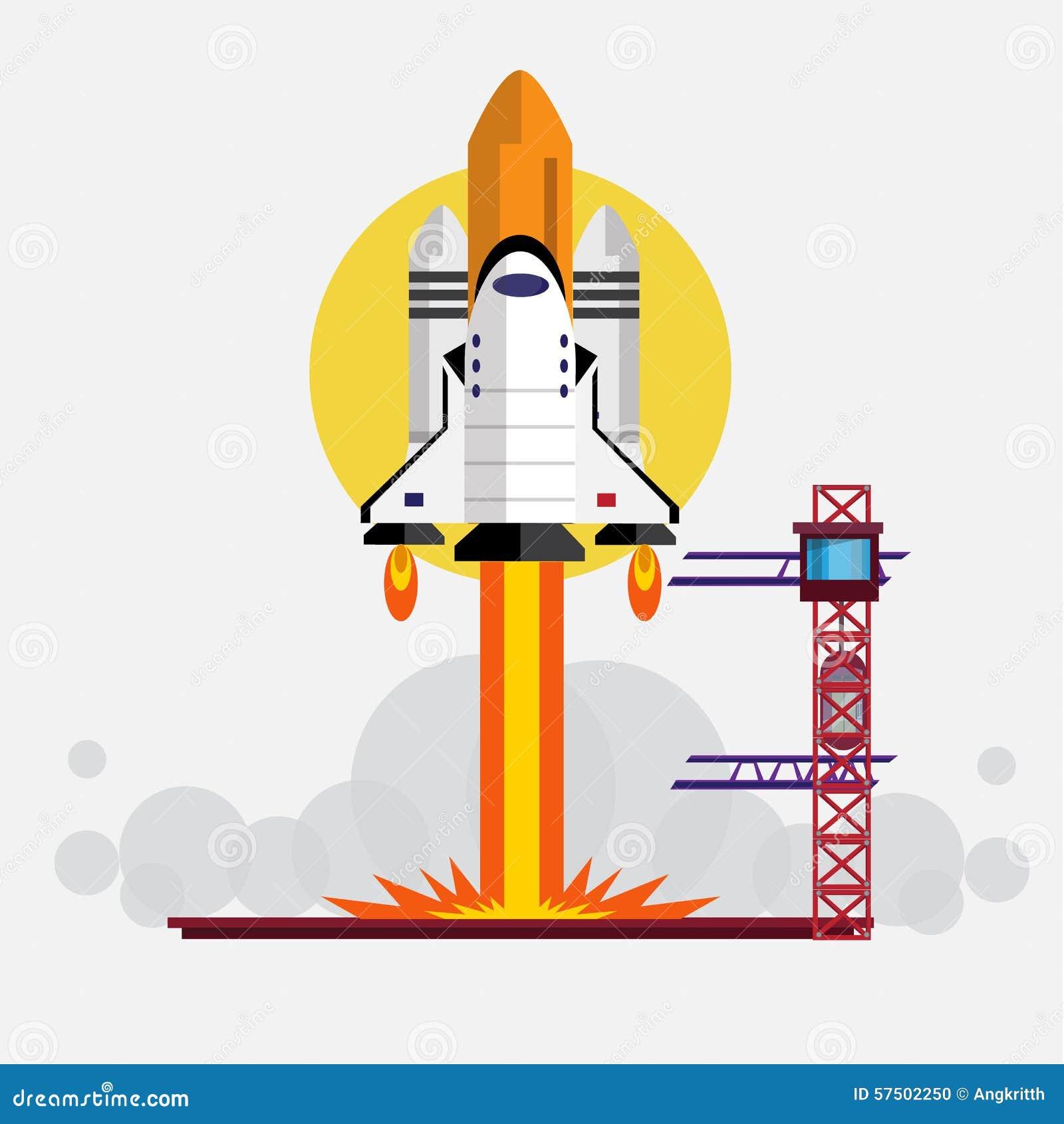 Space Shuttle Launching -