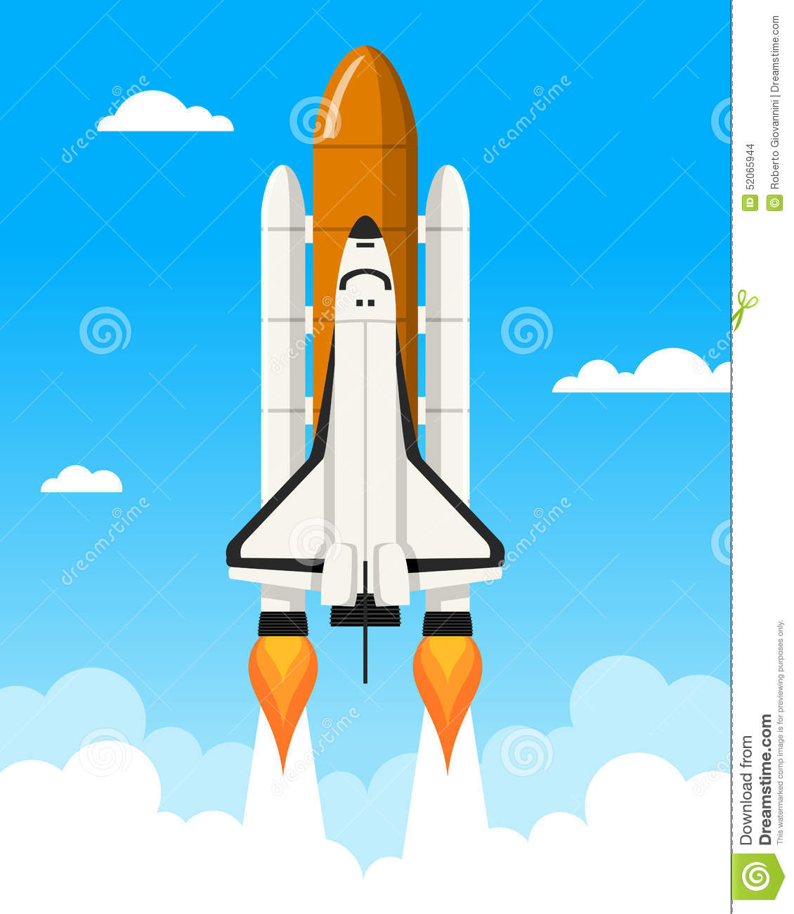 new space shuttle illustration - photo #5