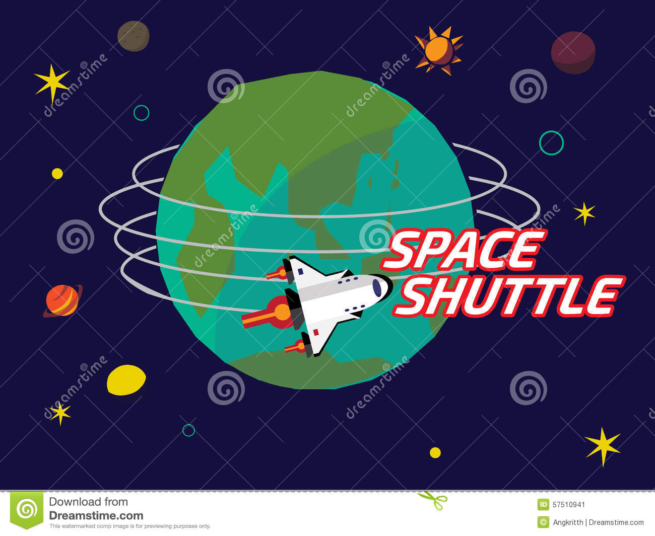 space shuttle trip around earth - photo #15