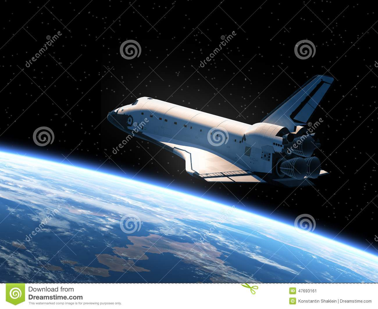 space shuttle trip around earth - photo #39