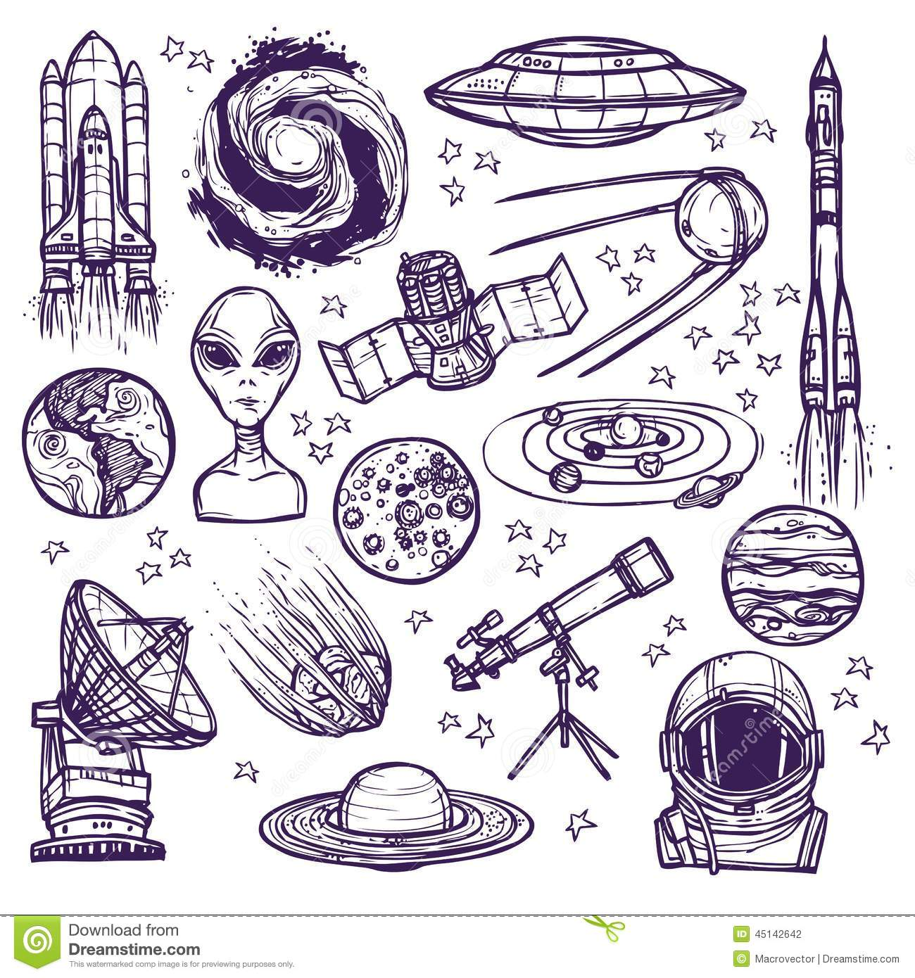 astronomy doodles - photo #45